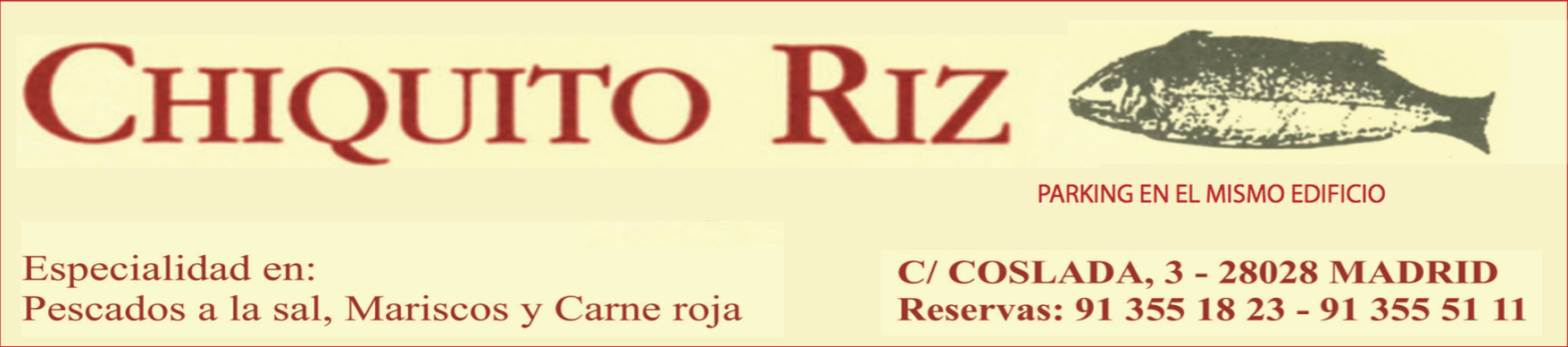 Chiquito Riz