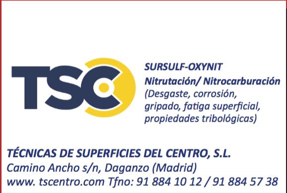 TSC Técnicas de superficie del centro